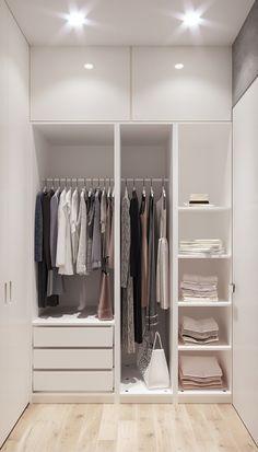 Room design How to be the Bedroom Built In Wardrobe, Bedroom Closet Design, Bedroom Furniture Design, Bedroom Wardrobe, Small Room Bedroom, Small Wardrobe, Wardrobe Storage, Wardrobe Closet, Closet Renovation