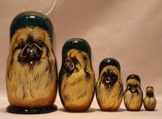 I LOVE THIS> Russian Matryoshka Pekineses