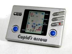 80s Retro JIM LCD Game Watch Cupid's Arrow Made in Japan Great Condition #JIM