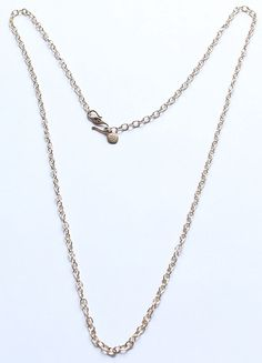 BARSE Signed Brass Long Chain Necklace 30.5 Inches #Barse #Chain