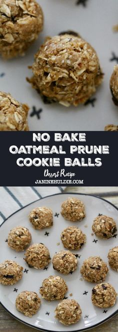No Bake Oatmeal Prune Cookie Balls Recipe - Make Back to School breakfast yummy, but healthier with this NO Bake Breakfast Cookie Ball idea from Mariani Packing Co. Stop & Shop and Mariani Probiotic Prunes Breakfast Cookies, Breakfast Bake, Breakfast Recipes, Snack Recipes, Dessert Recipes, School Breakfast, Nutritious Breakfast, Baby Recipes, Breakfast Items