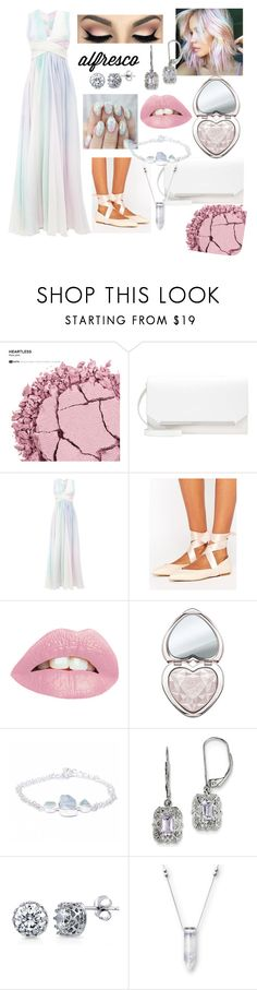 """Eazy Breezy"" by sarahhill-sgh ❤ liked on Polyvore featuring Urban Decay, Zuhair Murad, Lipsy, Too Faced Cosmetics, Poppy Jewellery, BillyTheTree and BERRICLE"