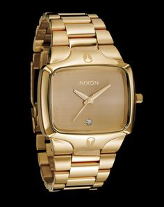 Nixon Watches - Men's The Player Watch in Gold