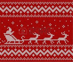 Ideas Knitting Christmas Sweater Cross Stitch For 2019 Knitted Christmas Stockings, Christmas Knitting, Christmas Sweaters, Knitting Charts, Knitting Stitches, Knitting Patterns, Fair Isle Chart, Fair Isle Pattern, Christmas Charts