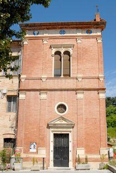 Frazione Piane ex villa padronale e Chiesa di S Filippo#marcafermana #maglianoditenna #fermo #marche
