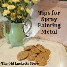 Tips for spray painting metal | The Old Lucketts Store