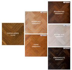 Ardbo Stavparkett finns i tre sorteringar, Nature, Select & Rustic
