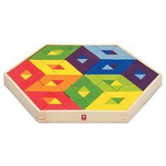 Mosaic at puzzles Hape Toys