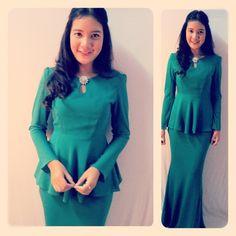 Baju #Kurung #Moden - Mikhayla (Chiffon)