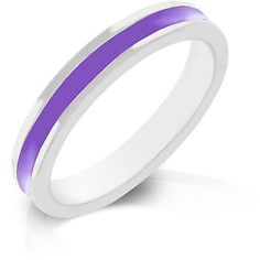 Purple Enamel Eternity Ring | Fine quality jewelry at affordable prices - flat rate shipping