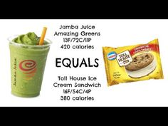equals & alternatives Episode 15: Jamba Juice Amazing Greens and Cookies...