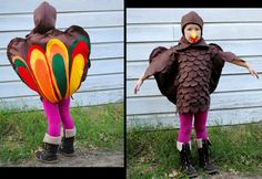 Turkey Costume - adorable.  http://www.etsy.com/listing/85533669/childs-handmade-thanksgiving-turkey?ref=sr_gallery_8_search_query=turkey+costumes+_order=most_relevant_view_type=gallery_ship_to=US_search_type=all