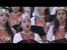 Գյումրիի «Տիրամայր Հայաստան» երգչախումբը Վատիկանի Սուրբ Պետրոսի տաճարում 2015/12/04 - YouTube