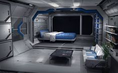 sci fi bedroom concepts - Google Search