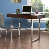 Found it at Wayfair - Cleoford Computer Desk and Chrome