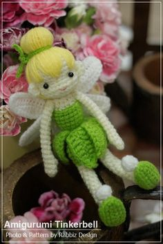 Tinkerbell PDF Crochet Pattern. $5.00, via Etsy.  (I want Debra to make this for my birthday!!!)