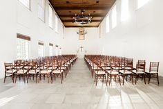 Rosemary Beach Town Hall Wedding, Town Hall Ceremony Set Up, 30A, Seaside, Alys Beach, Watercolor, bamboo wedding ceremony chairs.