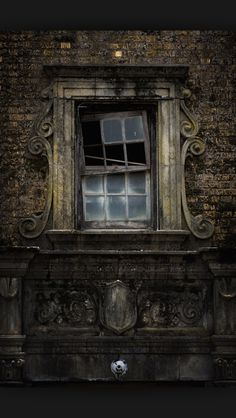"""Enjoy these 32 """"Creepy Abandoned Windows and Doors"""". It's no wonder we find these broken windows and doors creepy yet compelling. Abandoned Buildings, Abandoned Mansions, Old Buildings, Abandoned Places, Abandoned Castles, Old Windows, Windows And Doors, Photo Post Mortem, Magic Places"""