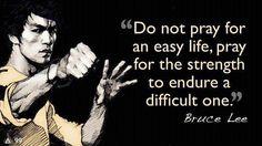 Bruce Lee on strength