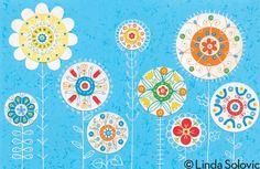 Simply Spring by Linda Solovic, via Behance