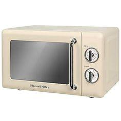 Russell Hobbs Retro Microwave RHRETMM705B - Cream