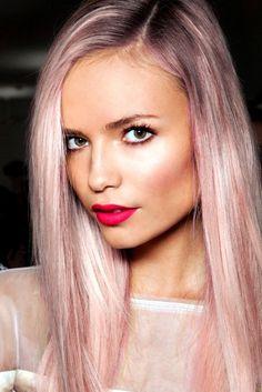 2013 Autumn/Winter Hair Colour Trends #pastel #hair