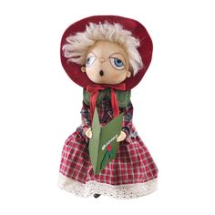 "Gathered Traditions ""Cora"" Caroler by Joe Spencer $46.99"