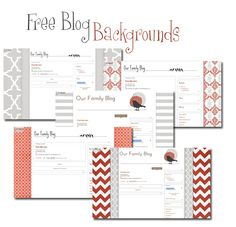 New Free Blog Backgrounds Just For You! | Leelou Blogs