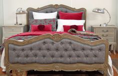 My French Interiors - The Amour Queensize Bed