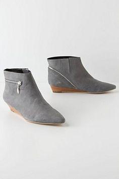 Zip Wedge Boots | Anthropologie.eu