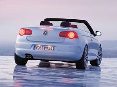 Volkswagen EOS Convertible ... maybe I'll trade my '79 VW convertible for one of these!!!