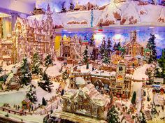 Amazing Christmas Gingerbread Village in Waikiki