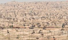 Kern River Oil Field, California. What Humans Are Really Doing to Our Planet, in 19 Jaw-Dropping Images
