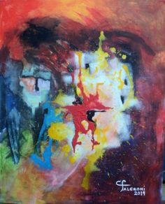 Pintura. Artista Maria Cristina Faleroni Titulo de la Obra : Promesas del corazón.