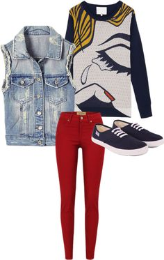 """Untitled #23"" by h3lo-kitty on Polyvore"