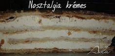 Nosztalgia krémes, nekem ez a kedvencem Vanilla Cake, Sweets, Baking, Ethnic Recipes, Desserts, Food, Mascarpone, Deserts, Good Stocking Stuffers