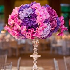 Browsing through this amazing selection of CENTERPIECES is like waking up in wedding heaven. (KLK Photography)