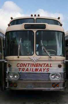 Continental Trailways 6769 3-1967 John LeBeau collection | Flickr School Bus Camper, Bus City, Retro Bus, Bakersfield California, Hydrogen Fuel, Tramway, Bus Terminal, Bus Coach, London Transport
