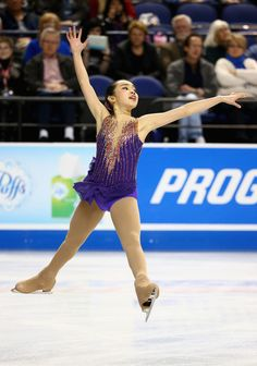 Karen Chen US National Championships 2015 short program (Requiem for a Tower by Escala)