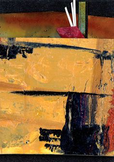 Abstract Collage ... No.13... Original by Kathy Morton Stanion