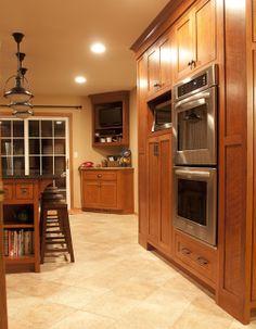 quarter sawn oak kitchen cabinets - Google Search