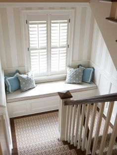 great idea for upstairs landing