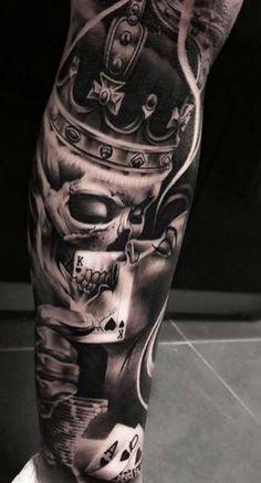 T Artikel Mens Tattoos Ideen tattoos sleeve - tattoos sleeve women - tattoos sleeve ideas - floral tattoos sleeve - skull tattoos sleeve - tattoos sleeve mens Forarm Tattoos, Chicano Tattoos, Dope Tattoos, Badass Tattoos, Forearm Tattoo Men, Trendy Tattoos, Mens Tattoos, Mens Leg Tattoo, Tatoos Men