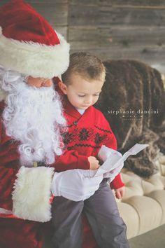 Santa Christmas mini session Stephanie Dandini Photography