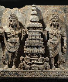 Relieve Gandhara del siglo III-IV d.C. Jaume Bagot Arqueología Ancient Art
