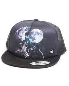 2eb420ed Wolfpack Trucker Cap by DC Shoes Best Sellers, Snapback, Snapback Hats,  Snapback Cap