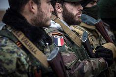 Французский спецназ при бригаде «Призрак» Алексея Мозгового.