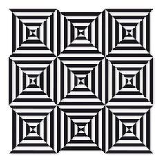 Op Art How Printmaking Optical Illusions For Kids, Optical Illusions Drawings, Illusions Mind, Optical Illusion Quilts, Illusion Drawings, Art Drawings, Op Art Lessons, Illusion Kunst, Illusion Pictures