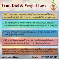 All Fruit Diet