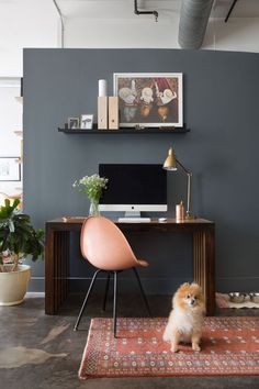 Home Office Designs - Home offices are now a norm to modern homes. Here are some brilliant home office design ideas to help you get started. Home Office Furniture Design, Loft Interior Design, Home Office Design, Home Office Decor, Home Interior, Home Decor, Office Designs, Design Room, Small Home Offices